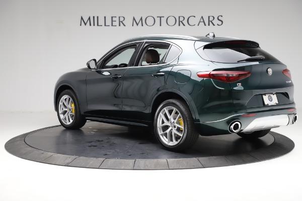 New 2021 Alfa Romeo Stelvio Ti Q4 for sale Sold at Maserati of Westport in Westport CT 06880 4