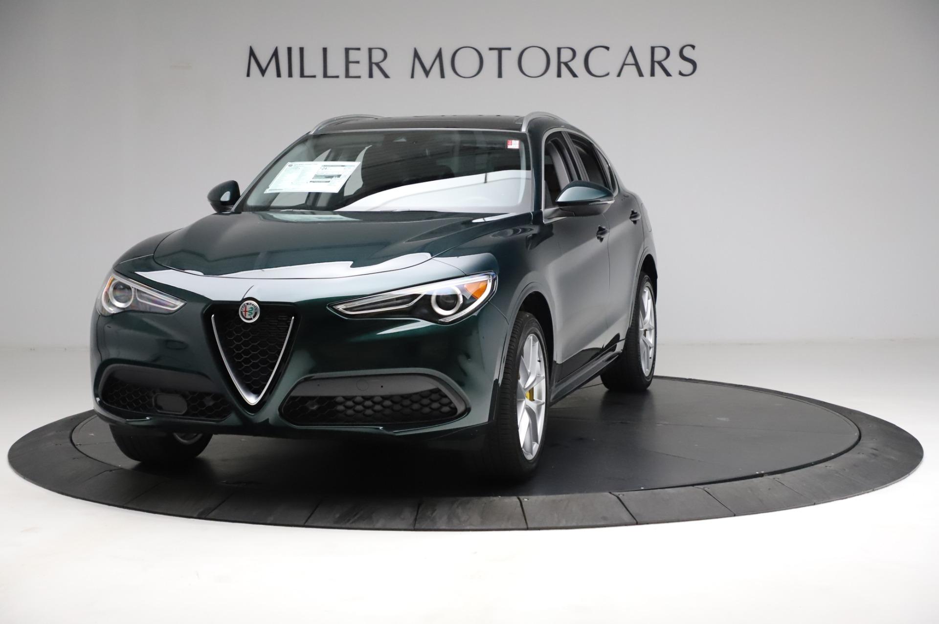 New 2021 Alfa Romeo Stelvio Ti Q4 for sale $53,800 at Maserati of Westport in Westport CT 06880 1