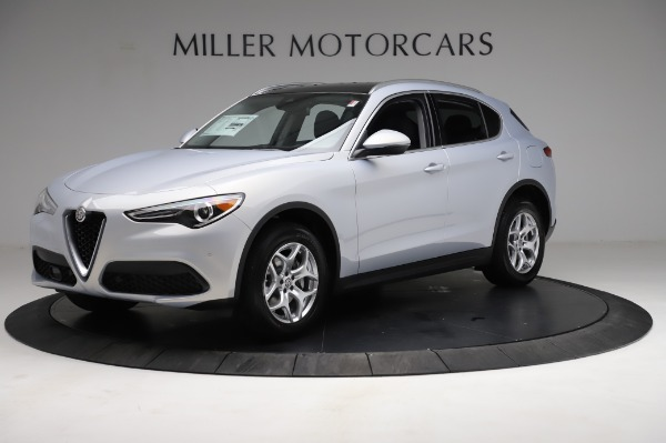 New 2021 Alfa Romeo Stelvio Q4 for sale $50,145 at Maserati of Westport in Westport CT 06880 2