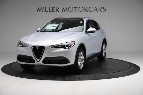 New 2021 Alfa Romeo Stelvio Q4 for sale $50,145 at Maserati of Westport in Westport CT 06880 1