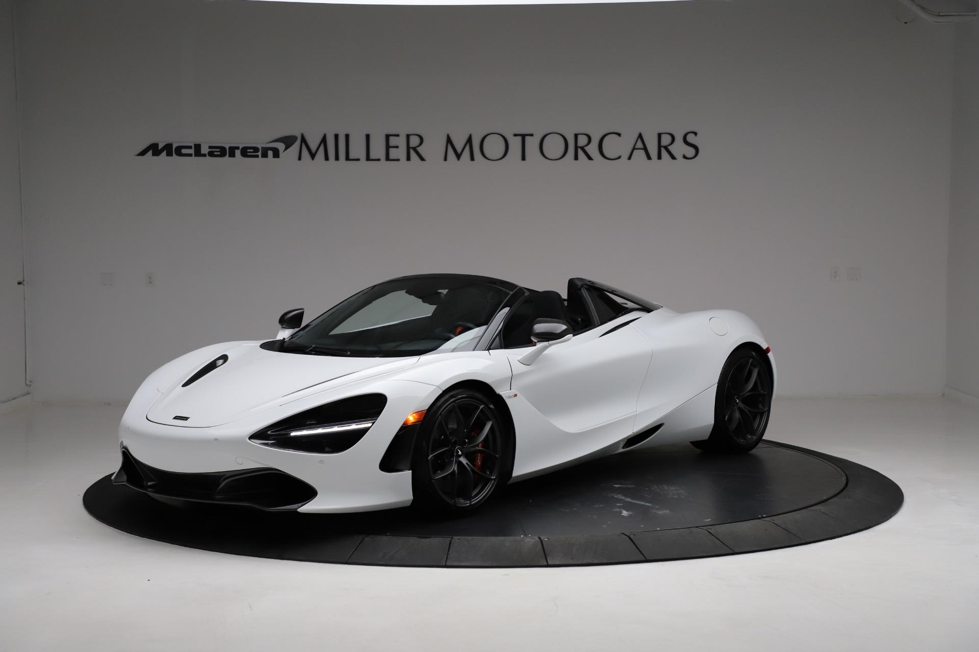Used 2020 McLaren 720S Spider for sale Sold at Maserati of Westport in Westport CT 06880 1