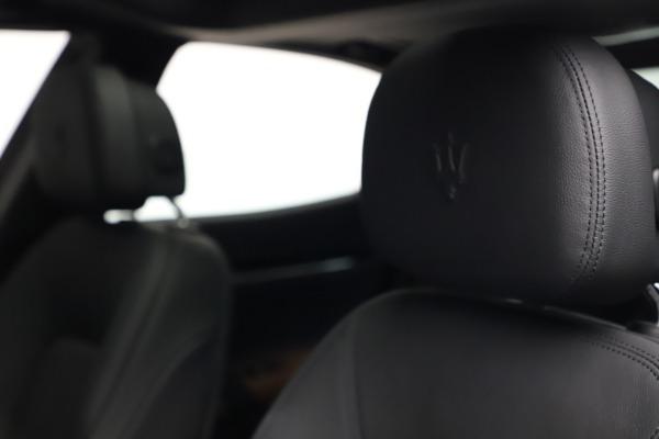New 2021 Maserati Ghibli S Q4 for sale $90,525 at Maserati of Westport in Westport CT 06880 16