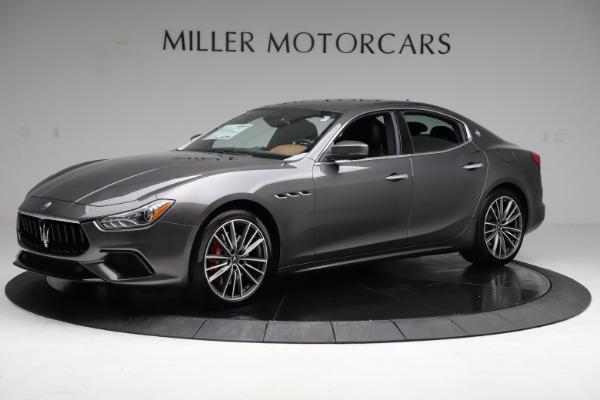 New 2021 Maserati Ghibli S Q4 for sale $90,525 at Maserati of Westport in Westport CT 06880 2