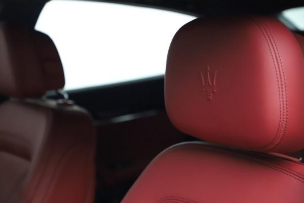 New 2021 Maserati Quattroporte S Q4 GranLusso for sale $122,349 at Maserati of Westport in Westport CT 06880 15