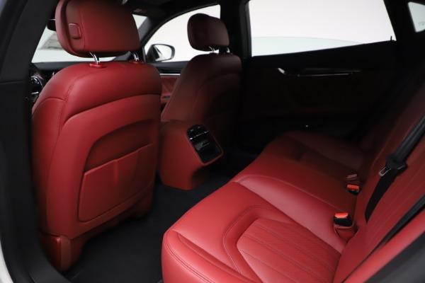 New 2021 Maserati Quattroporte S Q4 GranLusso for sale $122,349 at Maserati of Westport in Westport CT 06880 20
