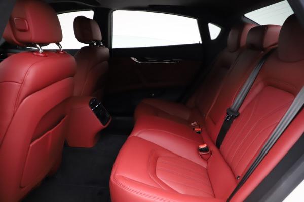New 2021 Maserati Quattroporte S Q4 GranLusso for sale $122,349 at Maserati of Westport in Westport CT 06880 21