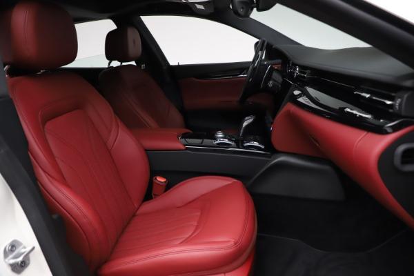 New 2021 Maserati Quattroporte S Q4 GranLusso for sale $122,349 at Maserati of Westport in Westport CT 06880 25