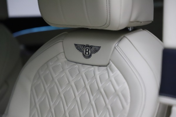 New 2021 Bentley Flying Spur W12 First Edition for sale Call for price at Maserati of Westport in Westport CT 06880 21