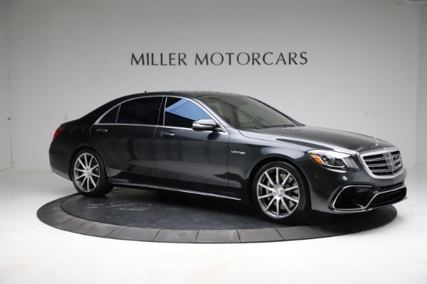 Used 2019 Mercedes-Benz S-Class AMG S 63 for sale $122,900 at Maserati of Westport in Westport CT 06880 18
