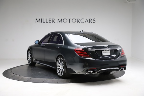 Used 2019 Mercedes-Benz S-Class AMG S 63 for sale $122,900 at Maserati of Westport in Westport CT 06880 8