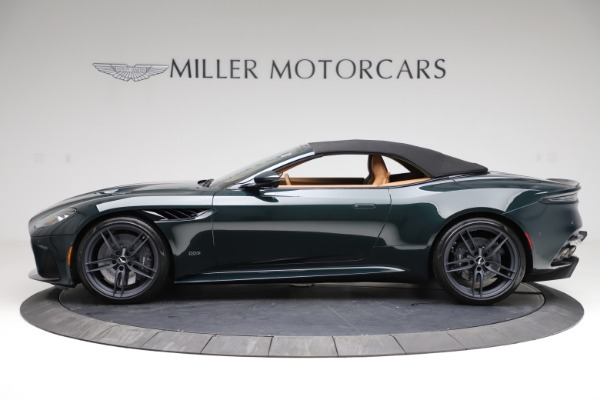 New 2021 Aston Martin DBS Superleggera Volante for sale $392,916 at Maserati of Westport in Westport CT 06880 14