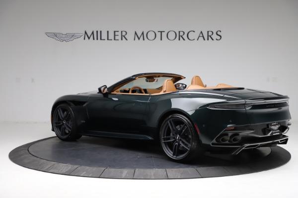 New 2021 Aston Martin DBS Superleggera Volante for sale $392,916 at Maserati of Westport in Westport CT 06880 3
