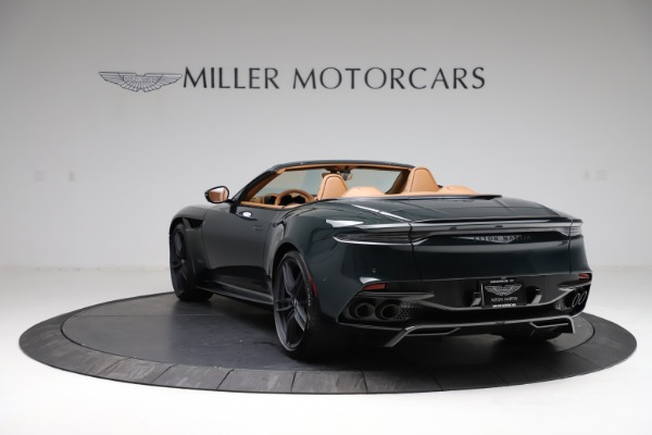 New 2021 Aston Martin DBS Superleggera Volante for sale $392,916 at Maserati of Westport in Westport CT 06880 4