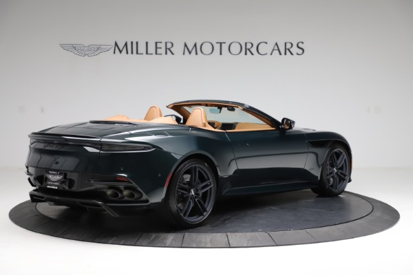 New 2021 Aston Martin DBS Superleggera Volante for sale $392,916 at Maserati of Westport in Westport CT 06880 7