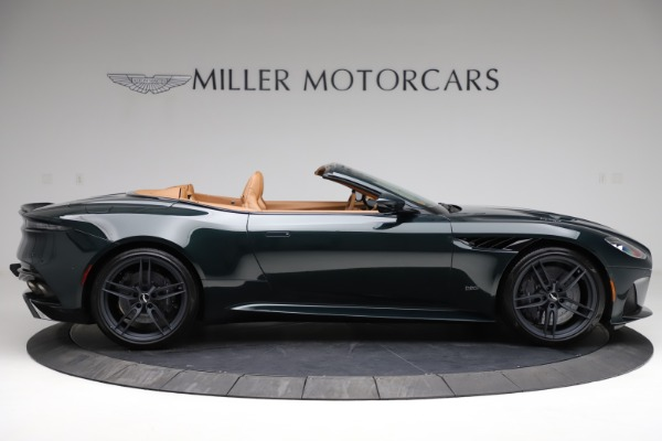New 2021 Aston Martin DBS Superleggera Volante for sale $392,916 at Maserati of Westport in Westport CT 06880 8
