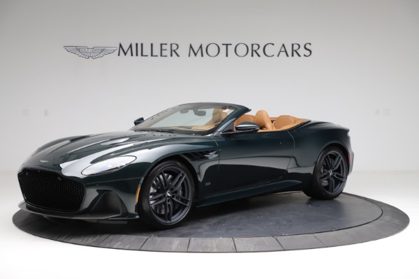 New 2021 Aston Martin DBS Superleggera Volante for sale $392,916 at Maserati of Westport in Westport CT 06880 1