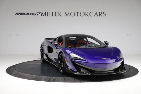 Used 2019 McLaren 600LT for sale $234,900 at Maserati of Westport in Westport CT 06880 10