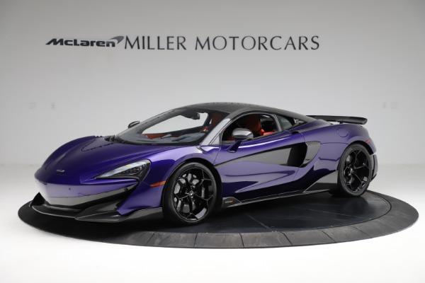 Used 2019 McLaren 600LT for sale $234,900 at Maserati of Westport in Westport CT 06880 1