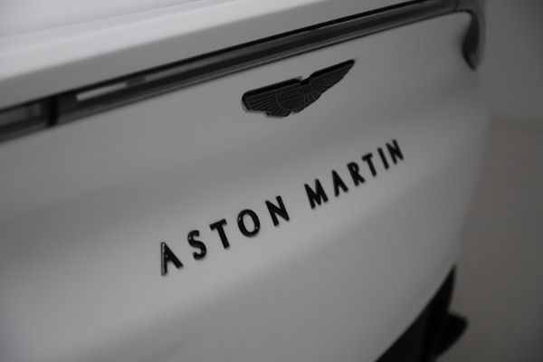New 2021 Aston Martin DBX for sale $210,386 at Maserati of Westport in Westport CT 06880 24