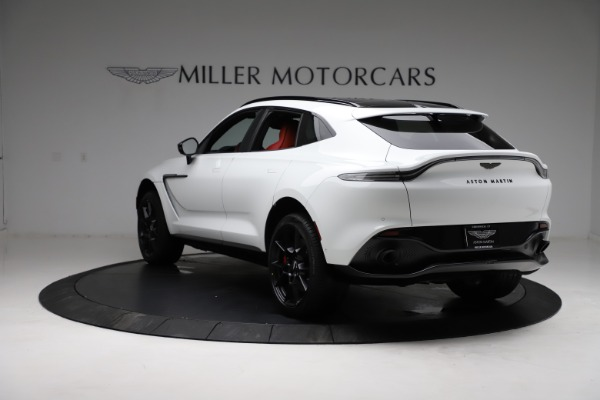 New 2021 Aston Martin DBX for sale $210,386 at Maserati of Westport in Westport CT 06880 4