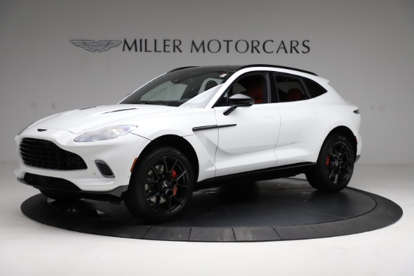 New 2021 Aston Martin DBX for sale $210,386 at Maserati of Westport in Westport CT 06880 1