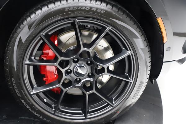 New 2021 Aston Martin DBX for sale $206,286 at Maserati of Westport in Westport CT 06880 26
