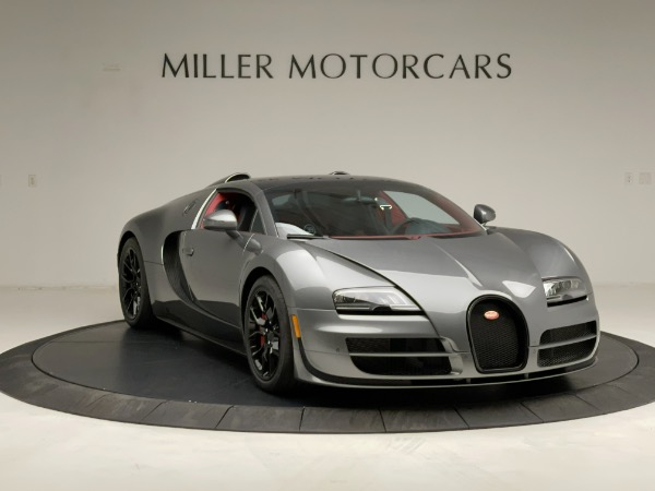Used 2013 Bugatti Veyron 16.4 Grand Sport Vitesse for sale Call for price at Maserati of Westport in Westport CT 06880 19