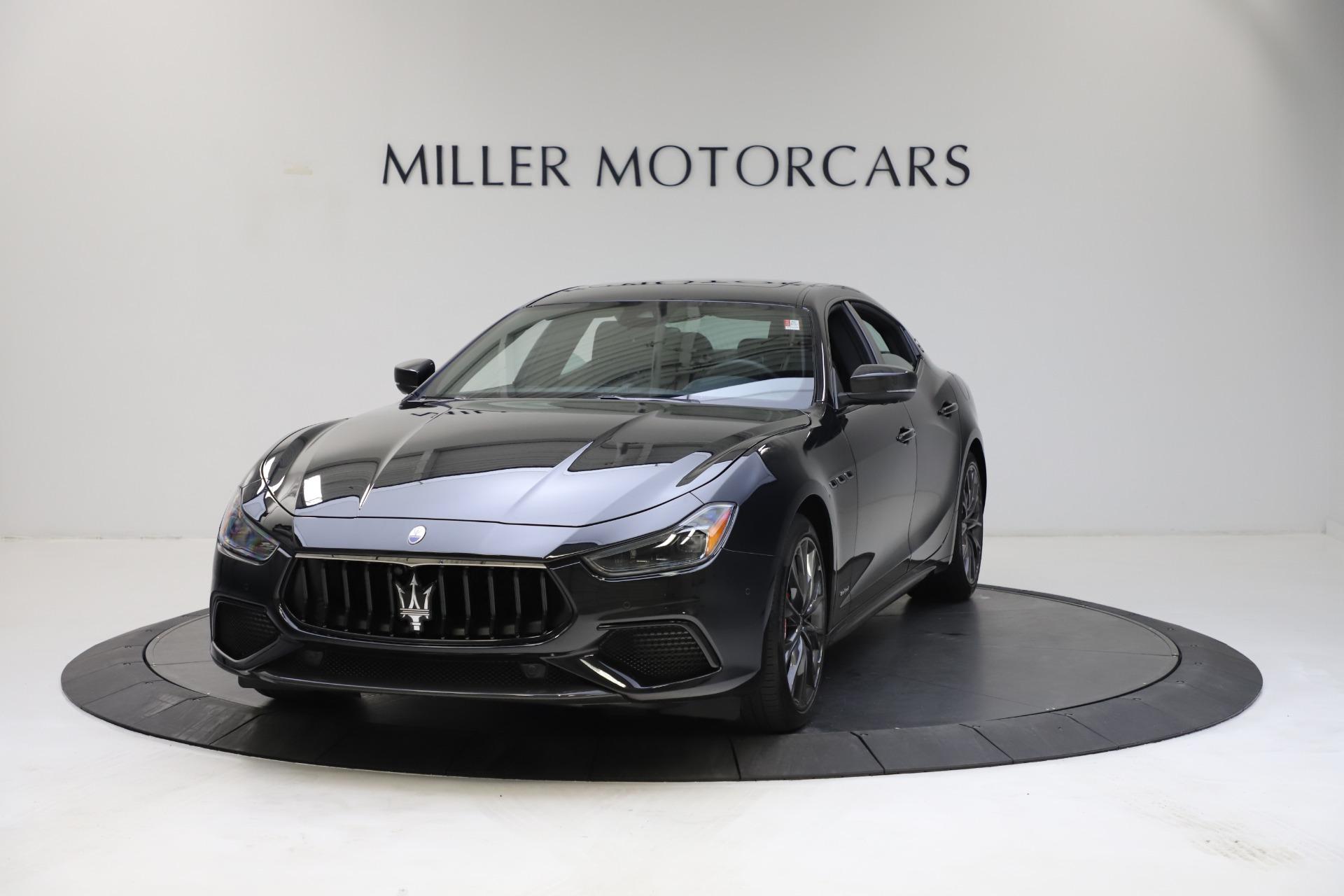 New 2021 Maserati Ghibli S Q4 GranSport for sale Call for price at Maserati of Westport in Westport CT 06880 1