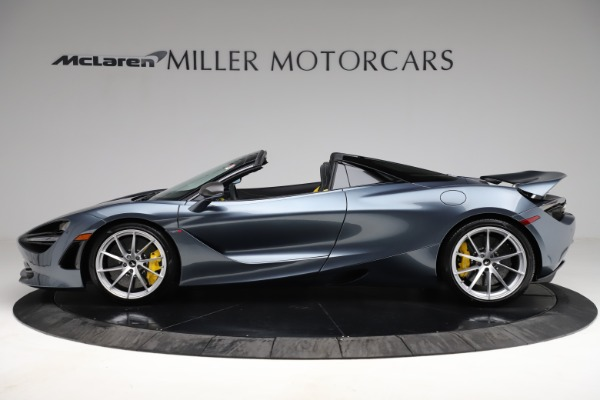 New 2021 McLaren 720S Spider for sale $351,450 at Maserati of Westport in Westport CT 06880 2