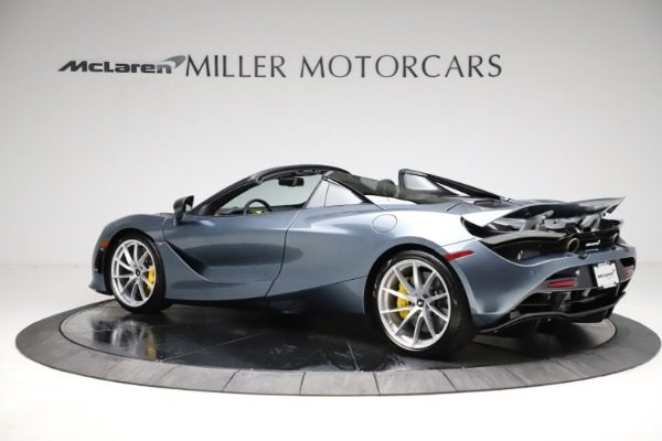 New 2021 McLaren 720S Spider for sale $351,450 at Maserati of Westport in Westport CT 06880 3
