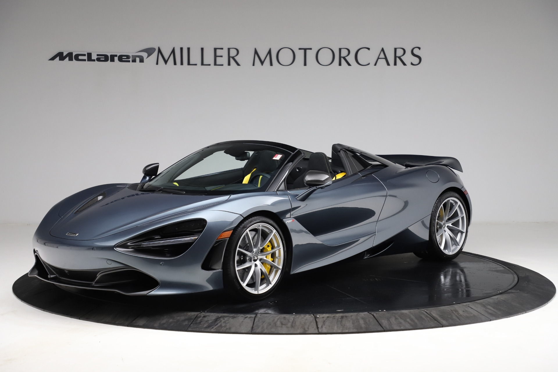New 2021 McLaren 720S Spider for sale $351,450 at Maserati of Westport in Westport CT 06880 1