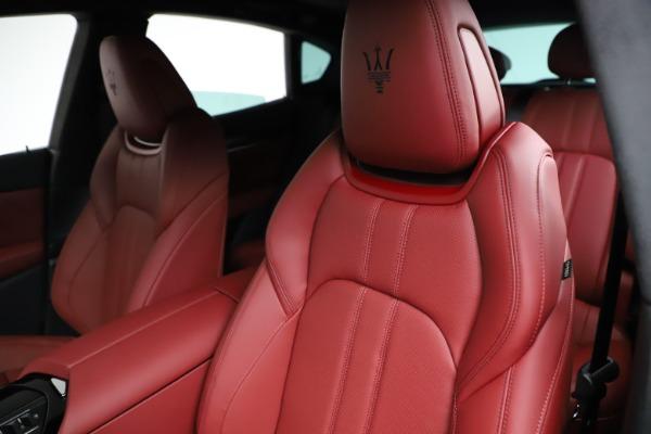 New 2021 Maserati Levante Q4 GranSport for sale $95,835 at Maserati of Westport in Westport CT 06880 17