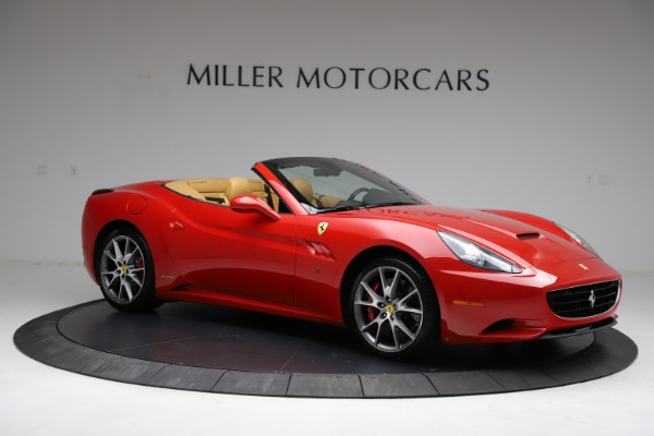 Used 2010 Ferrari California for sale $114,900 at Maserati of Westport in Westport CT 06880 10
