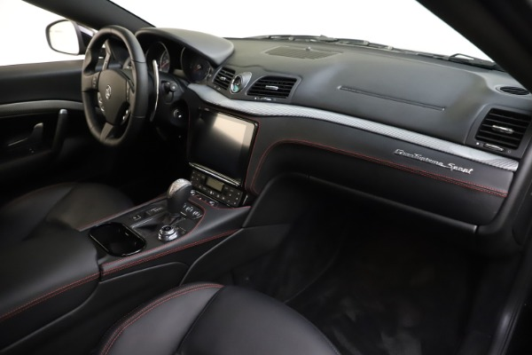 Used 2018 Maserati GranTurismo Sport for sale $99,900 at Maserati of Westport in Westport CT 06880 18