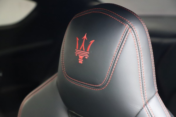 Used 2018 Maserati GranTurismo Sport for sale $99,900 at Maserati of Westport in Westport CT 06880 28