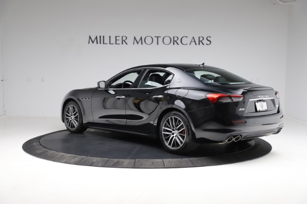 New 2021 Maserati Ghibli S Q4 for sale $86,654 at Maserati of Westport in Westport CT 06880 4