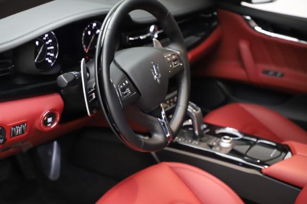 New 2021 Maserati Quattroporte S Q4 GranLusso for sale $122,435 at Maserati of Westport in Westport CT 06880 13