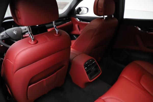 New 2021 Maserati Quattroporte S Q4 GranLusso for sale $122,435 at Maserati of Westport in Westport CT 06880 18