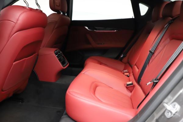 New 2021 Maserati Quattroporte S Q4 GranLusso for sale $122,435 at Maserati of Westport in Westport CT 06880 20