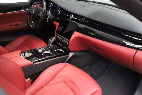 New 2021 Maserati Quattroporte S Q4 GranLusso for sale $122,435 at Maserati of Westport in Westport CT 06880 22