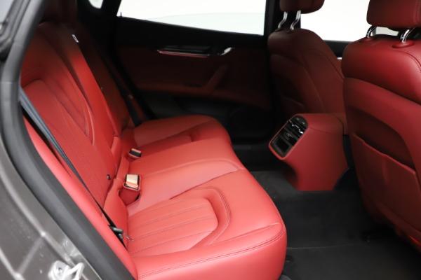 New 2021 Maserati Quattroporte S Q4 GranLusso for sale $122,435 at Maserati of Westport in Westport CT 06880 24