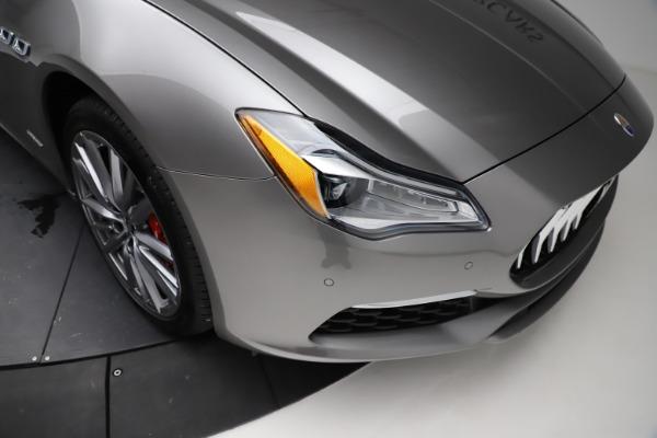 New 2021 Maserati Quattroporte S Q4 GranLusso for sale $122,435 at Maserati of Westport in Westport CT 06880 25