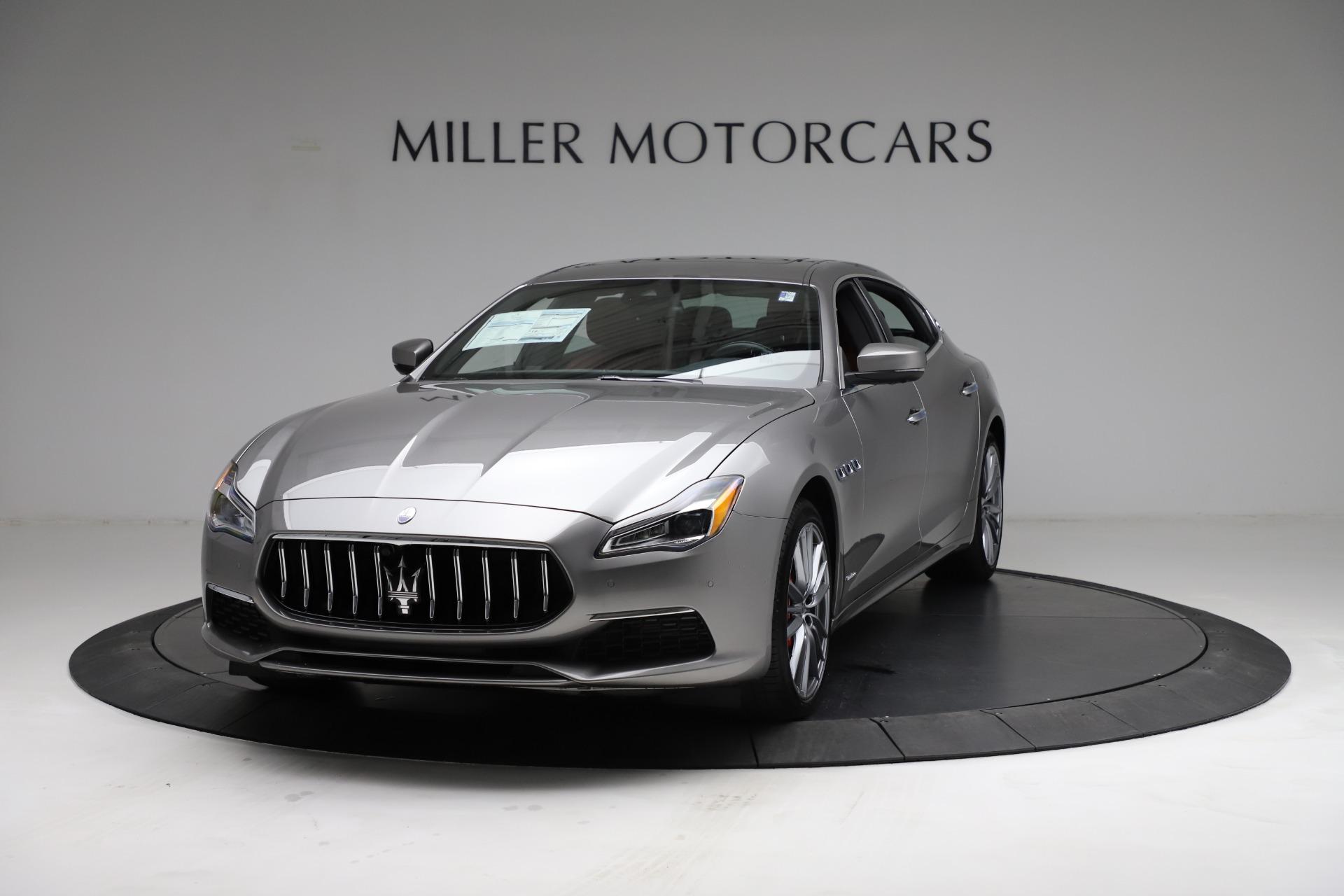 New 2021 Maserati Quattroporte S Q4 GranLusso for sale $122,435 at Maserati of Westport in Westport CT 06880 1