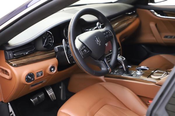 New 2021 Maserati Quattroporte S Q4 GranLusso for sale $123,549 at Maserati of Westport in Westport CT 06880 12
