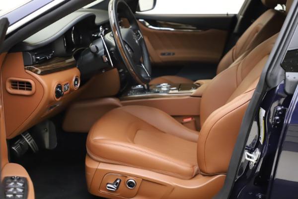 New 2021 Maserati Quattroporte S Q4 GranLusso for sale $123,549 at Maserati of Westport in Westport CT 06880 13