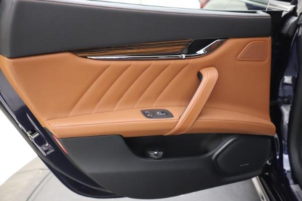 New 2021 Maserati Quattroporte S Q4 GranLusso for sale $123,549 at Maserati of Westport in Westport CT 06880 18