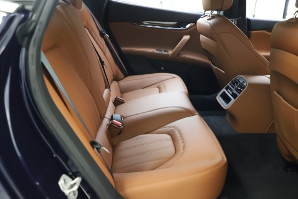 New 2021 Maserati Quattroporte S Q4 GranLusso for sale $123,549 at Maserati of Westport in Westport CT 06880 19