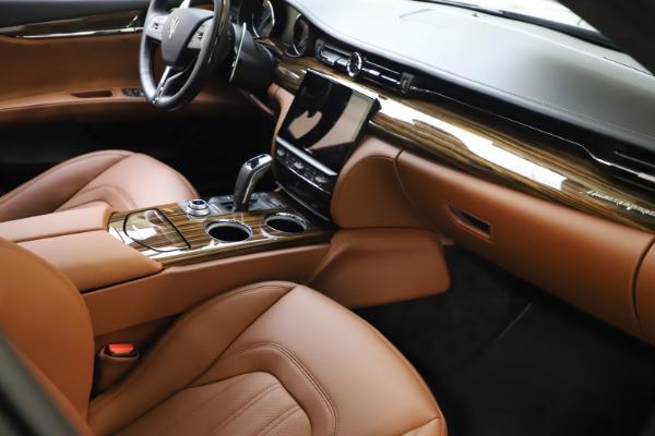 New 2021 Maserati Quattroporte S Q4 GranLusso for sale $123,549 at Maserati of Westport in Westport CT 06880 20