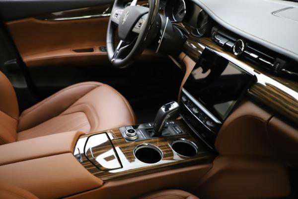 New 2021 Maserati Quattroporte S Q4 GranLusso for sale $123,549 at Maserati of Westport in Westport CT 06880 21