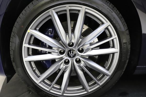 New 2021 Maserati Quattroporte S Q4 GranLusso for sale $123,549 at Maserati of Westport in Westport CT 06880 24